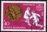 Sellos de Europa - Rumania -  Montreal '76