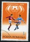 Sellos de Europa - Rumania -  Argentina '78