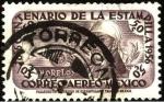 Stamps Mexico -  Morelos y cañón. Centenario de la primer estampilla. 1856-1956.