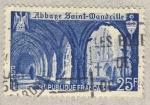 Stamps France -  Abbage Saint-Mandrille