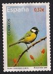 Stamps Spain -  Flora y Fauna - Carbonero comun