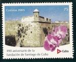 Sellos de America - Cuba -  Castillo de S.Pedro de la Roca en Santiago