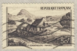 Stamps France -  Le Gerbier de Jonc (Vivarias)