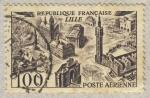 sellos de Europa - Francia -  Vue stylisée de Lille