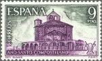 Sellos de Europa - España -  ESPAÑA 1971 2052 Sello Nuevo Año Santo Compostelano Iglesia Romanica De Unate Navarra Yv1705