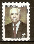 Stamps of the world : Honduras :  JESUS  AGUILAR  PAZ