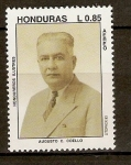 Stamps of the world : Honduras :  AUGUSTO  C.  COELLO