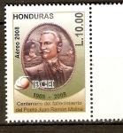 Stamps of the world : Honduras :  JUAN  RAMÓN  MOLINA