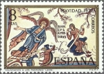 Sellos de Europa - España -  ESPAÑA 1972 2116 Sello Nuevo Navidad Pinturas Basílica San Isidoro León