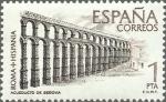 Sellos de Europa - España -  ESPAÑA 1974 2184 Sello Nuevo Roma Hispania Acueducto de Segovia