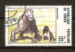Stamps Africa - Republic of the Congo -  Dinosaurios.