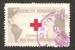 Stamps America - Dominican Republic -  centº del primer sello postal dominicano