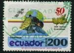 Sellos de America - Ecuador -  50 Aniv. Unión Nacional de Periodistas