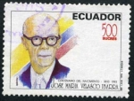 Stamps America - Ecuador -  José María Velasco Ibarra