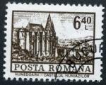 Stamps Romania -  Castillo