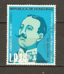 Stamps America - Honduras -  JUAN  RAMÓN  MOLINA