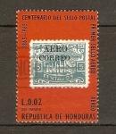 Stamps Honduras -  SELLO  POSTAL  DE  1925