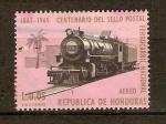 Stamps Honduras -  LOCOMOTORA