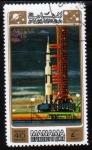 Stamps United Arab Emirates -  1971 Manama: Apolo 15