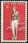 Sellos del Mundo : Europa : Estados_Unidos : Amelia Earhart