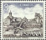 Stamps Spain -  ESPAÑA 1975 2268 Sello Nuevo IX Serie Turistica Iglesia de San Pedro Tarrasa Barcelona