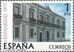 Stamps Spain -  ESPAÑA 1975 2293 Sello Nuevos Hispanidad Uruguay El Cabildo de Montevideo c/señal charnela
