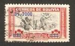 Sellos de America - Bolivia -  IV centº de la fundacion de la paz (alonso de mendoza funda la ciudad)