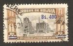 Stamps : America : Bolivia :  IV centº de la fundación de la paz (avenida camacho)