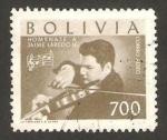 Stamps Bolivia -  homenaje a jaime laredo u.