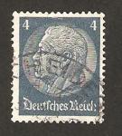 Sellos de Europa - Alemania -  mariscal hindenburg