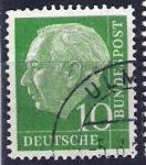 Sellos de Europa - Alemania -  Theodor Heuss.