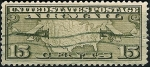 Stamps United States -  Inaguración de las líneas contractuales