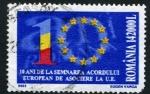 Sellos de Europa - Rumania -  10 Aniversario
