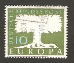 Stamps Germany -  140 - Europa Cept