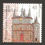 Sellos del Mundo : Europa : Alemania : 2540 - 500 anivº de rathaus frabkenberg (eder)