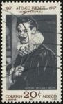Stamps Mexico -  Artemio de Valle Arizpe, escritor  y diplomático. 1884 - 1961. 100 años del  ATENEO FUENTE 1867 - 19