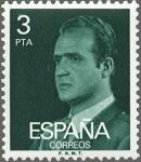 Sellos de Europa - España -  ESPAÑA 1976 2346 Sello Nuevo Serie Básica Rey Juan Carlos I 3 pts