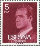 Sellos de Europa - España -  ESPAÑA 1976 2347 Sello Nuevo Serie Básica Rey Juan Carlos I 5 pts sin goma
