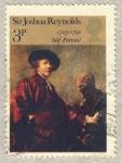 Stamps United Kingdom -  British Paintings  Joshua reynolds