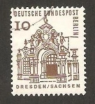 Stamps Germany -  Berlin - 219 - zwinger en dresden