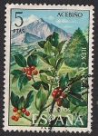 Stamps Spain -  Flora