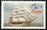 Stamps Europe - France -  Barcos - Buque escuela Europa  - Holanda