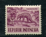 Stamps Indonesia -  trenggiling