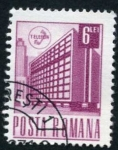 Sellos del Mundo : Europa : Rumania :  Edificio