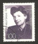 Stamps Germany -  nelly sachs, escritora y poeta, centº de su nacimiento