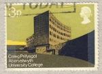 Stamps United Kingdom -  Modern University Buildings Coleg Pritysgol Aberystwyth University College