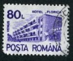 Sellos de Europa - Rumania -  Hotel Florica