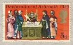 Stamps United Kingdom -  Declaration of Arbroath 1320