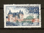 Stamps France -  Sully sur Loire.