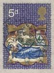 Stamps United Kingdom -  Christmas 1970